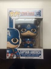 FUNKO POP - CAPTAIN AMERICA: CIVIL WAR - 125 - NEW!!!