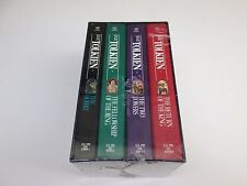 Vintage Del Rey Fantasy Lord of The Rings Hobbit  4-Book Box Set J.R.R. Tolkien