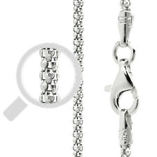 Italy Popcorn 180 Chain Sterling Silver Rhodium Plated Best Price Jewelry 20""