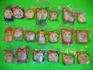 1999 McDonalds - Toy Story 2 - Complete set of 20 *MIP*