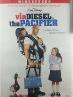 DISNEY'S THE PACIFIER DVD - VIN DIESEL - BRAD GARRETT -WIDESCREEN