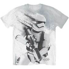 Star Wars Stormtrooper All Over Sublima Mens White TS Large Tshirt