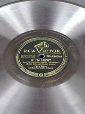 "VICTOR 20-1945 Perry Como IF I'M LUCKY/ONE MORE VOTE 78 10"" E"