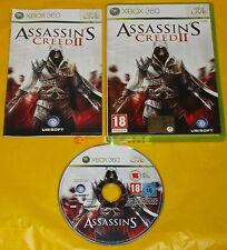 ASSASSIN'S CREED II 2  XBOX 360 Versione Italiana 1ª Edizione ••••• COMPLETO