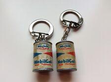 2 Porte clefs bidon Mobilgel-garage-voiture-keychain