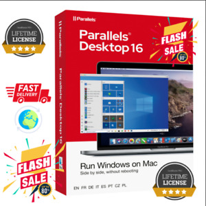 ✔️Parallels Desktop 16 For Mac OS Multi-language ✔️ NEW Version