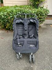 Baby Jogger City Mini Double Black/Gray Standard Double Seat Stroller
