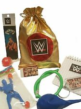Wrestling Party/Loot bag with 8 great items included in each bag