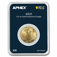 2021 1/2 oz American Gold Eagle (MD® Premier + PCGS FirstStrike®) - SKU#218709