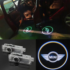 2x LED Laser Door courtesy Shadow Lights For Mini Cooper R55 R56 R57 R58 R59 R60