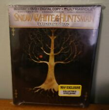 New! Snow White and The Huntsman Extended Edition Steelbook Blu-ray/DVD