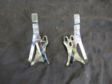 SHIMANO LARGE TOE CLIPS DURA ACE 600 PEDALS ROAD TOURING