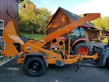 Kubota 4 Cylinder Power Unit With Pto Diesel Engine Wood Chipper 780 Hours
