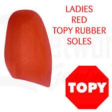 RED RUBBER SOLES - 1.5mm Professional Grade - DIY -TOPY - AU SELLER