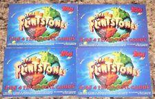 . The Flintstones Movie Card Set. Topps in 1993. Complete 4card FOIL INSERT SET.