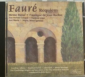 Faure: Requiem  & Other Choral Music - Rutter (CD, Collegium 1988)
