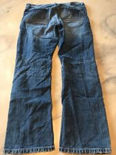 Express Jeans Size 34/30 Slim Low Rise Straight Leg Rocco