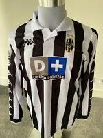 Juventus FC Zidane Long Sleeve Jersey Replica Retro Football Shirt #21