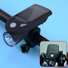 Bicycle LED Solar Energy USB Rechargeable Bike Front Head Light Headlight Lamp
