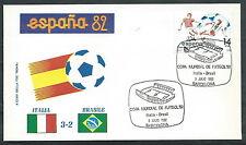 1982 ITALIA BUSTA SPECIALE COPPA DEL MONDO CALCIO ITALIA BRASILE - EDG6