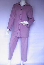Superbe Pyjama femme Libre Tendance By Bleu ROY neuf taille: 50 val:  104€ parme