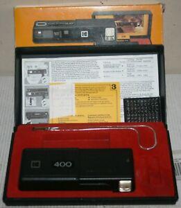 Kodak Ektralite 400 - 110 Film Camera Outfit With Instructions & Box