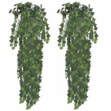 vidaXL 2x Kunstplant Klimop 90 cm Groen Kunstplanten Decoratie Kunstbloemen