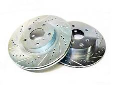 PHASE 2 FRONT 26MM BRAKE ROTORS DISCS FOR 90-96 NISSAN 300ZX 2+2 Z32 Z NA
