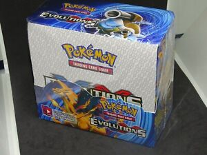 Display POKEMON EVOLUTIONS XY - 36 Boosters PROXY NEUF/SCELLE anglais