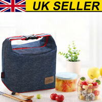 Waterproof Functional Insulated Lunch Box Bag Picnic Zip Pack Storage Pouch UK