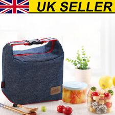 Imperméable fonctionnel Isolé Déjeuner Sac Boîte Picnic Zip Pack Stockage Sac UK