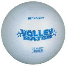 Ballon de volley ball beach volley match blanc 216 mm jeux plage camping neuf