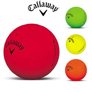 Callaway SuperHot Matte GOLF BALLS Recycled GRADE A   (One Dozen) FREE P&P