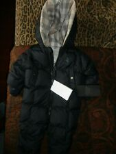 BURBERRY BABY SNOW SUIT SKI CLOTHING 6 MONTHS GLOVES BOOTIES NOVA CHECK