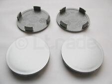 4x Nabenkappen Felgendeckel Nabendeckel Ø 60mm-58mm Silber Felgenkappen NEU