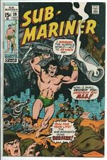 Marvel Comics  The Sub-Mariner #39 July 1971 VF-
