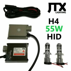 H4 HID Hi & HID Lo Kit 55W for Nissan Pulsar EXA ET Pintara Terano Tiida Turbo