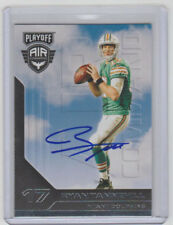RYAN TANNEHILL Titans SIGNED 2016 Playoff Air Command Autograph ON CARD AUTO