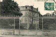 Carte CRECY EN BRIE Le château