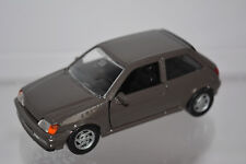 FORD FIESTA BROWN 2 PORTES SCHABAK 1085 1/43 MADE IN GERMANY MARRON MARROON