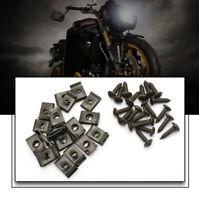 20 Set Auto Motor Plastic Body Screw and Clips For Yamaha Aerox / MBK Nitro