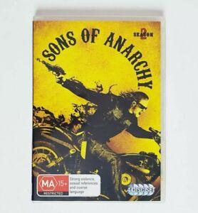 Sons of Anarchy Season 2 TV Series DVD Region 4 AUS - 4 x Disc Set