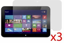 """3 Protectores de pantalla de lámina de Hellfire Trading para HP Envy x2 11.6"""""""