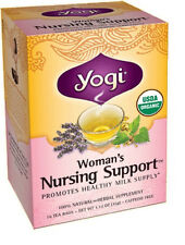 Woman's Nursing Mom Tea 16 Bags, Yogi Teas, Promotes Milk Supply, Lactation