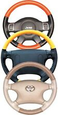 VW Perforated Custom 1 or 2 Color Leather Steering Wheel Cover Wheelskins