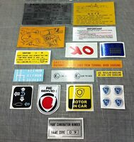 Mazda Rotary Sticker Kit (R100 10A Decal Kit) suit R100 RX2 RX3 10A 12A 13B