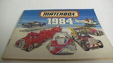 MATCHBOX KATALOGUS  CATALOGUE FOLDER BROCHURE  1984