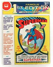 Famous First Edition #C-61 F, Superman #1, Treasury, Whitman, Dc Comics 1979