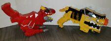 Power Rangers Dino Charge Red T REX & Yellow Morpher Gun SMOKE FREE FREE SHIP
