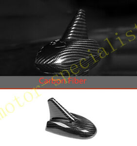 For Maserati Ghibli 2014-2016 Carbon Fiber Shark Fin Antenna Cover Radio Fit
